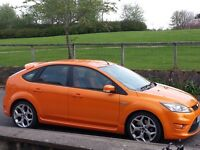 Ford Focus st2 2008 new face model electric orange