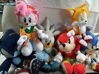 SONIC PLUSH (GREAT SELECTION) + MUCH MORE AT THE GAME MD