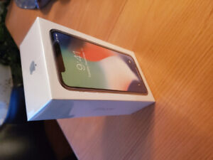 iPhone X, Unlock, never opened
