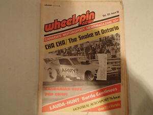 Vintage Collection of 6 WHEELSPIN NEWS Canada's Motorsport News Sarnia Sarnia Area image 5
