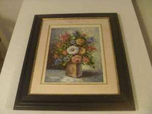 Artist Signed 14 By 16 Inch Framed Painting