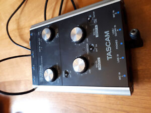 Tascam USB interface