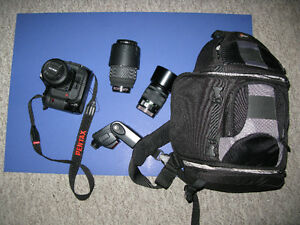 Pentax Dslr Outfit Excellent starter outfit