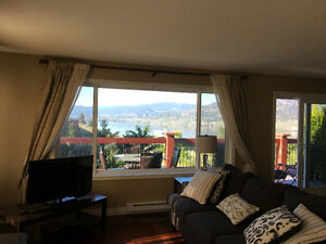 Quiet Skaha Lake View Suite - Close to beaches, KVR, Wineries