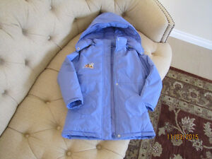 Girls winter jacket, size 8