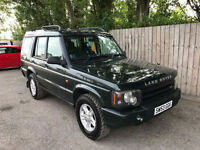 2003 53 Land Rover Discovery 2.5 Td5 S ( 7 st ) automatic 7 seats 31.4 mpg p/x