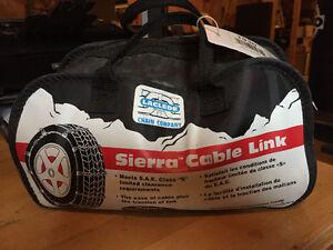 "Cable Link Tire Chains - 13"" to 16"" Gatineau Ottawa / Gatineau Area image 1"