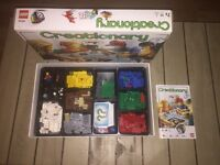Creationary Lego board game