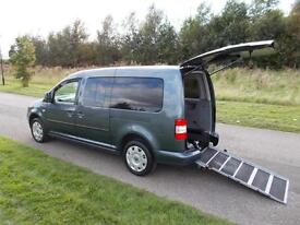 2010 Volkswagen Caddy 1.9 TDI, 5 Seats, Only 41K, WHEELCHAIR ACCESSIBLE DISABLED