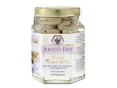 Queen Bee Queen Bee Royal Jelly 90 Caps