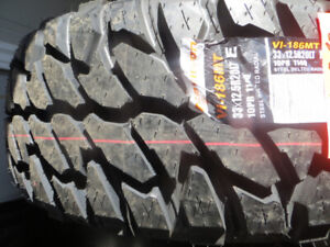 4  LT 33X1250R20 ON AND OFF ROAD TIRE SALE $978.00 TAX IN