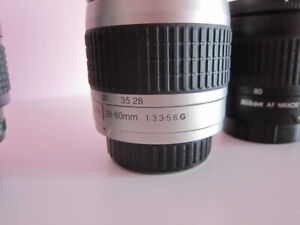 Nikon F Mount Autofocus Lenses for D90/300/600/700/800/7000 etc.