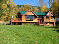 Dunster BC house for sale in the Rocky Mountains