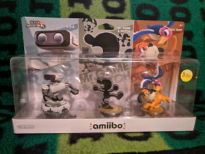Retro Amiibo Three Pack