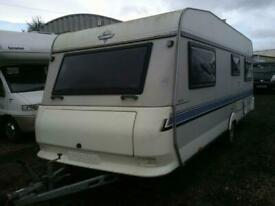Hobby prestige 4 berth caravan fixed bed