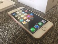 Iphone 6s rose gold 16gb immaculate almost new on EE boxed