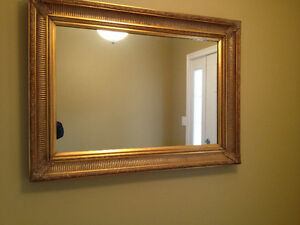 """Moving - Large Hallway Mirror - 2'-9"""" X 3'-6"""" - Thick Frame"""