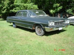 1964 Chevy or Pontiac project cars, parts cars, barn finds.