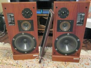 Mission 720 Speakers (vintage, Restored, Engineer Upgrade)