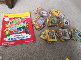 Lego cards and collector's book/album