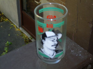 Toronto Blue Jays / Frito Lay Lloyd Moseby 12 oz. Glass 1986