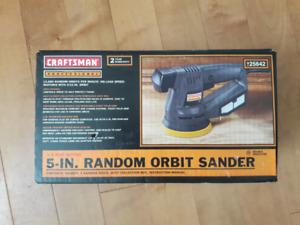 Craftsman 5-inch Random Orbit Sander