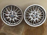 BMW MV Alloy wheels x2