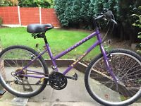ladies townsend mountain bike hardly used