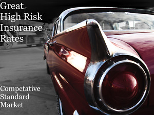 Affordable High Risk Insurance!!