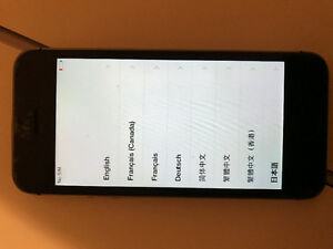 iPhone 5s 16Gb, used, locked to Bell