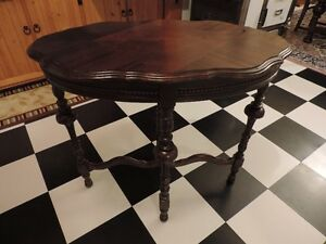 For Sale - 1930'S Oval Top Table