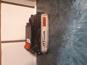 Black & Decker battery + charger for 20V impact or power drill