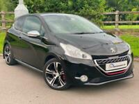 2015/15 Peugeot 208 1.6 THP GTi 3dr Manual in Black Panroof heated seats PX