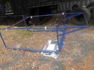 1/4 ton pick up ladder/lumber rack with bolt downs