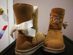 Light up girls Geox boots