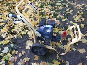 Champion 3000psi pressure washer with new pump