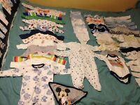 New born and 0-3 months baby clothes