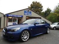 "BMW 530 3.0D M Sport AUTOMATIC SAT NAV LEATHER 19"" SPIDER ALLOYS 56 PLATE"