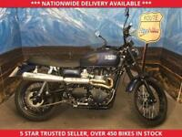 TRIUMPH BONNEVILLE SCRAMBLER 900 ONLY 905 MILES ONE OWNER 2016 16
