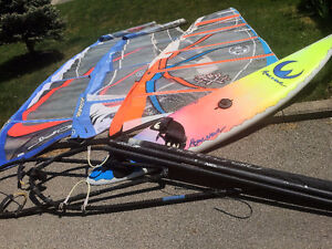 used windsurfing gear
