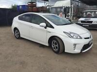 TOYOTA PRIUS HYBRID 1800 AUTO,2013 (62) PEARL WHITE