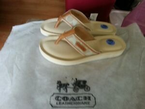 Sandale de marque authentique COACH neuves - Coach Sandal