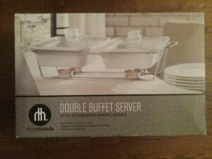 Double buffet server