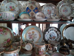 Garage / Estate Sale of Vintage Porcelain, China, Crystal, etc.