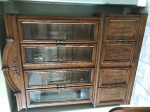 Moving sale~~cabinet combination~lower price
