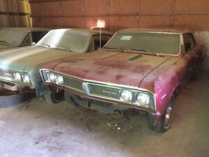 66 & 67 Beaumont Hardtops - dry stored +35 years / RARE finds.