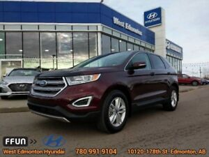 2017 Ford Edge SEL  SEL- Leather-Navigation-factory remote start