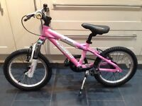 "16"" Girls Carrera Bike"