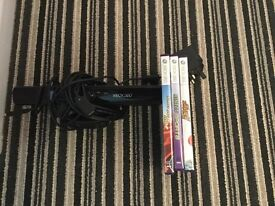 Xbox Kinect with games