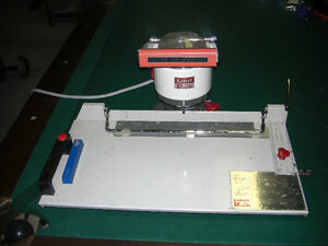 Electric Paper Drill, accurate 3 hole setup (1 hole at a time) Cambridge Kitchener Area image 1